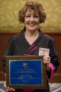 2015 UAA Marilyn J. Gittel Activist Scholar Award Recipient, Joan Wynne (Florida International Univ)