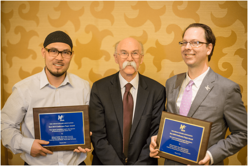 2016 Best Conference Paper Award